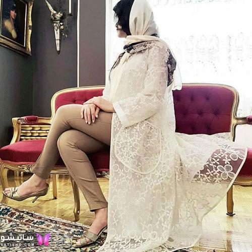 manto sefid satisho 5 - مدل مانتو سفید در طرح های اسپرت تابستانی و مجلسی زنانه 1400