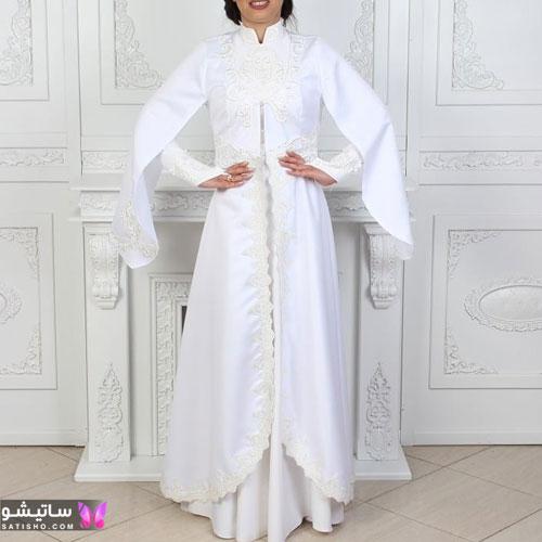 manto sefid satisho 53 - مدل مانتو سفید در طرح های اسپرت تابستانی و مجلسی زنانه 1400