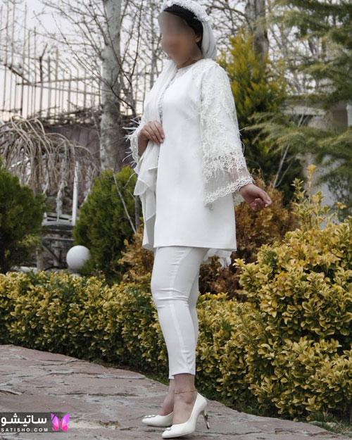 manto sefid satisho 56 - مدل مانتو سفید در طرح های اسپرت تابستانی و مجلسی زنانه 1400