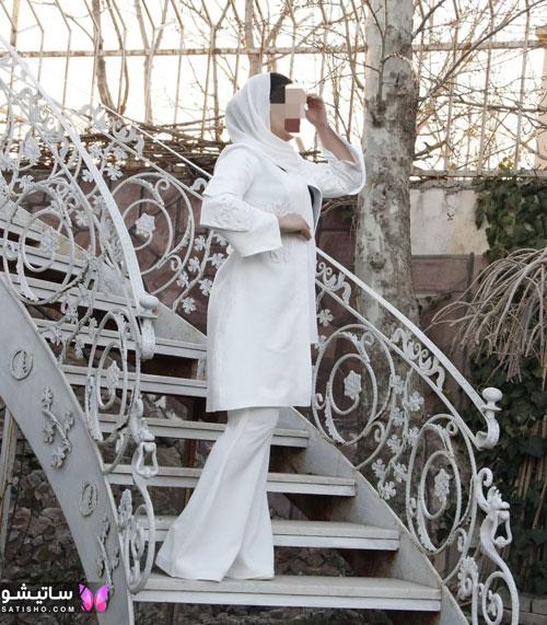 manto sefid satisho 57 - مدل مانتو سفید در طرح های اسپرت تابستانی و مجلسی زنانه 1400