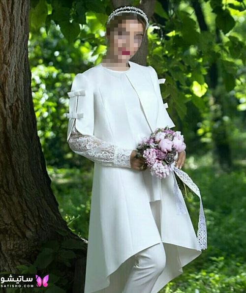 manto sefid satisho 58 - مدل مانتو سفید در طرح های اسپرت تابستانی و مجلسی زنانه 1400