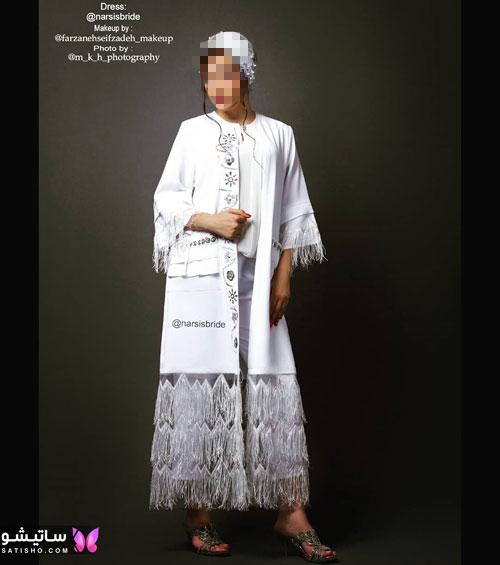 manto sefid satisho 7 - مدل مانتو سفید در طرح های اسپرت تابستانی و مجلسی زنانه 1400